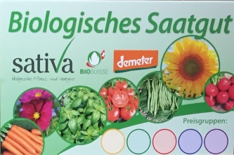 Biologisches Saatgut Sative Header